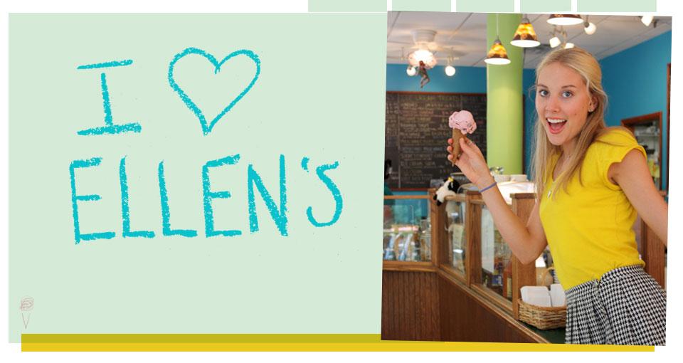 welcome to Ellen's!