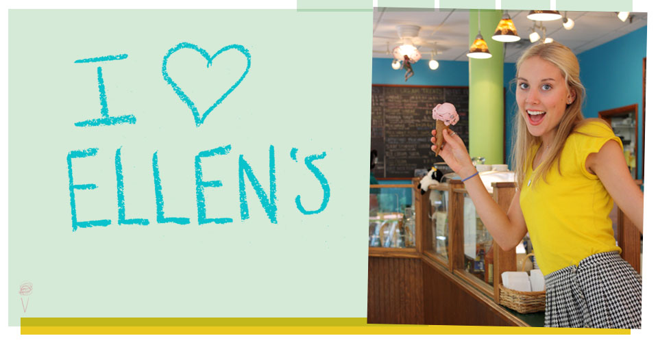 welcome to Ellen's!